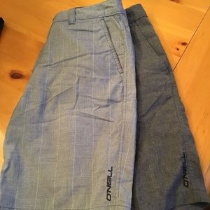 Lot of 2 men's shorts by O'Neill